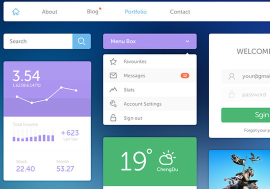 45 Free Design Resources: HTML5, CSS, UI Kits And PSDs 18