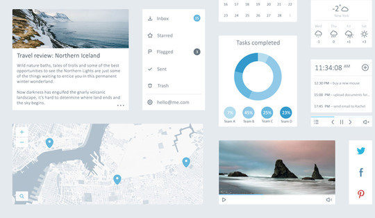 45 Free Design Resources: HTML5, CSS, UI Kits And PSDs 14