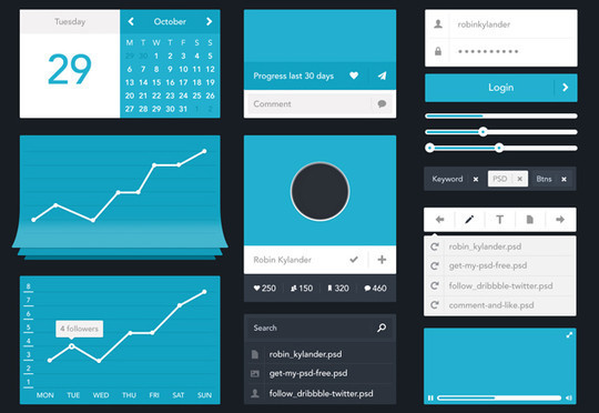 45 Free Design Resources: HTML5, CSS, UI Kits And PSDs 17