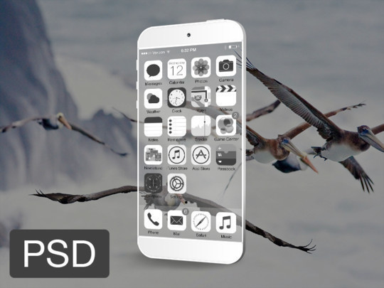 40 iPhone And Android Mockups Photoshop Files For Free Download 5