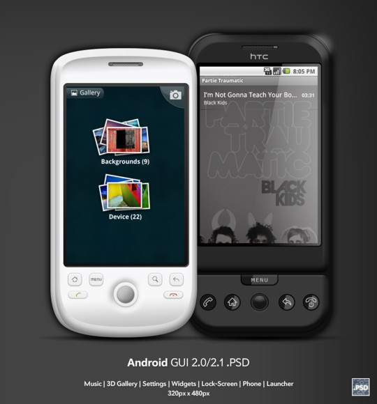 40 iPhone And Android Mockups Photoshop Files For Free Download 31