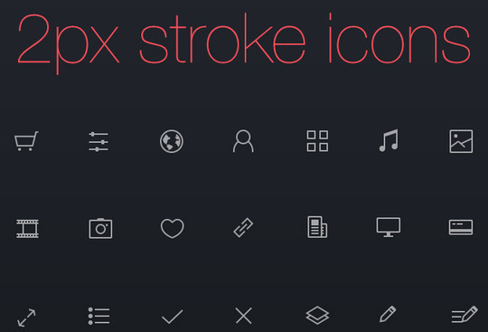 Collection Of Free High-Quality Line Icon Sets 3