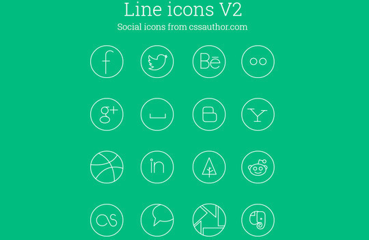 Collection Of Free High-Quality Line Icon Sets 13