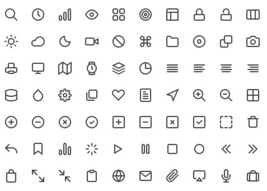 Collection Of Free High-Quality Line Icon Sets 14