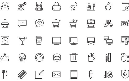 Collection Of Free High-Quality Line Icon Sets 16
