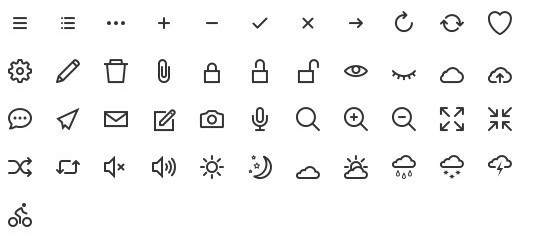 Collection Of Free High-Quality Line Icon Sets 17