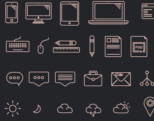Collection Of Free High-Quality Line Icon Sets 18