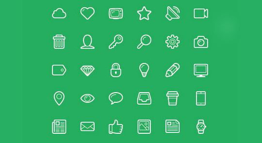 Collection Of Free High-Quality Line Icon Sets 20