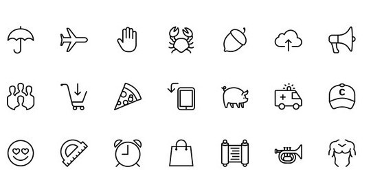 Collection Of Free High-Quality Line Icon Sets 21