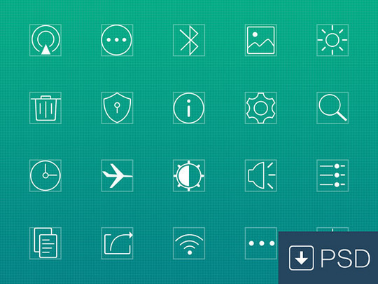 Collection Of Free High-Quality Line Icon Sets 22