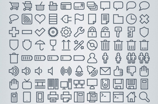 Collection Of Free High-Quality Line Icon Sets 23
