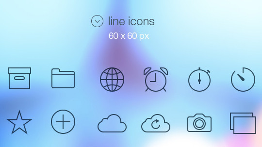 Collection Of Free High-Quality Line Icon Sets 25