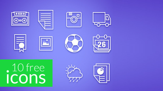 Collection Of Free High-Quality Line Icon Sets 31