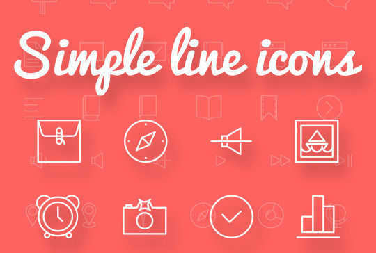 Collection Of Free High-Quality Line Icon Sets 2