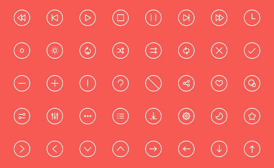 Collection Of Free High-Quality Line Icon Sets 33