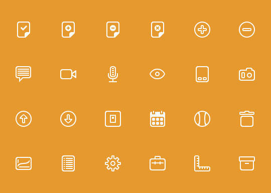 Collection Of Free High-Quality Line Icon Sets 36