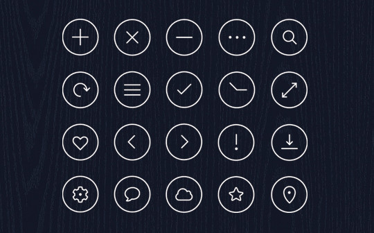 Collection Of Free High-Quality Line Icon Sets 30