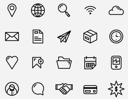 Collection Of Free High-Quality Line Icon Sets 37
