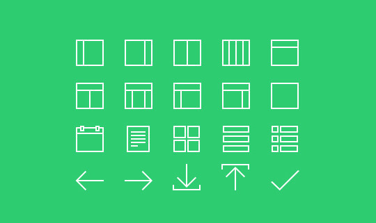 Collection Of Free High-Quality Line Icon Sets 32