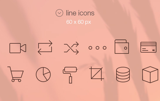 Collection Of Free High-Quality Line Icon Sets 38