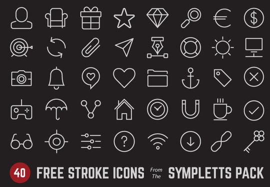 Collection Of Free High-Quality Line Icon Sets 8