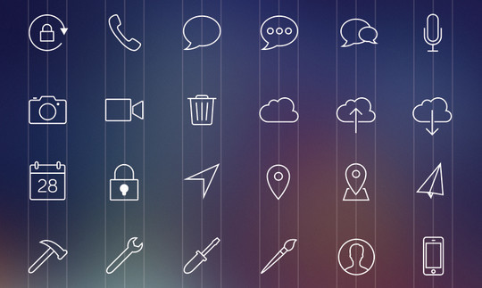 Collection Of Free High-Quality Line Icon Sets 10