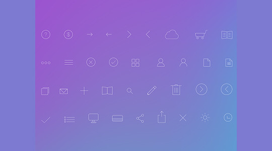 Collection Of Free High-Quality Line Icon Sets 11