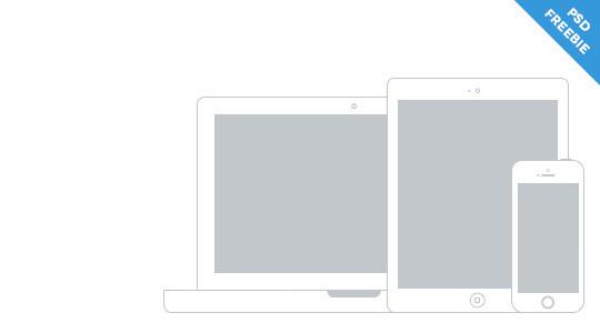 15 Free MacBook Mockup PSD Designs 14