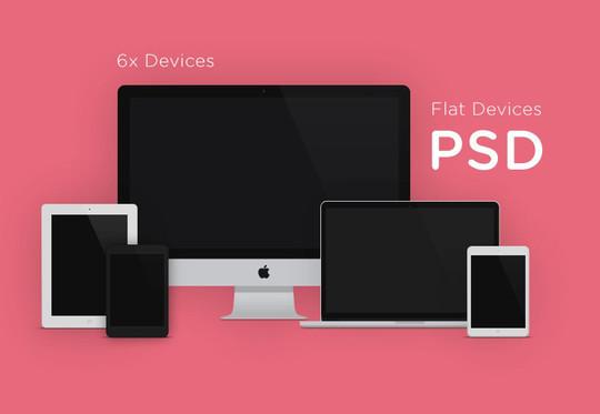15 Free MacBook Mockup PSD Designs 4