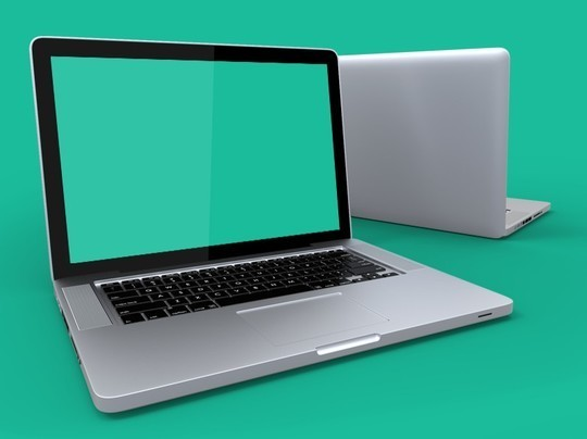 15 Free MacBook Mockup PSD Designs 15
