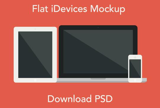 15 Free MacBook Mockup PSD Designs 16