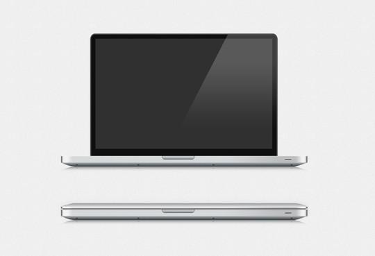 15 Free MacBook Mockup PSD Designs 12
