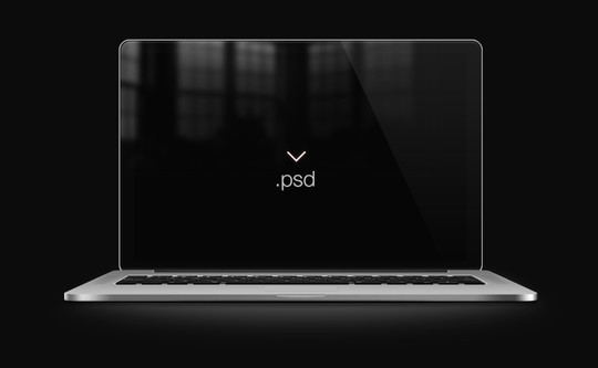 15 Free MacBook Mockup PSD Designs 3