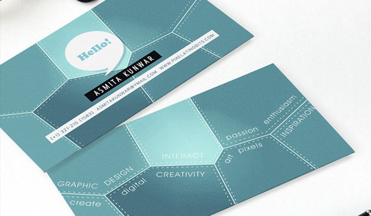 Modern and Graceful Business Card Examples 13