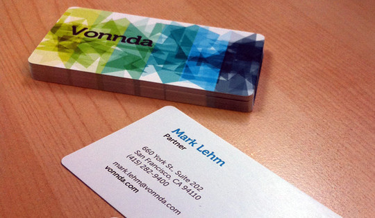 Modern and Graceful Business Card Examples 6