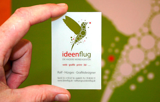 Modern and Graceful Business Card Examples 8