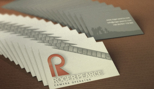 Modern and Graceful Business Card Examples 10