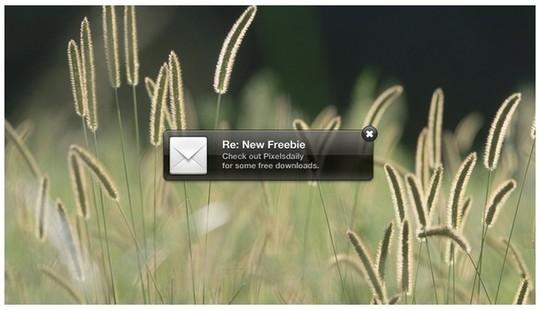 Excellent Photoshop Files For Notifications, Popups & Alert Windows 1