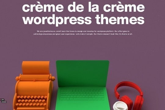 Creative One Page Website Designs 11