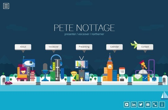 Creative One Page Website Designs 15