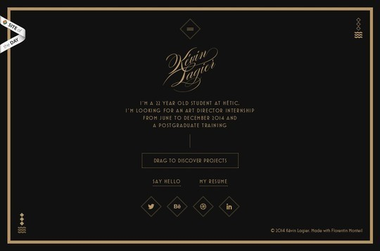 Creative One Page Website Designs 16