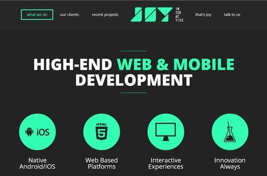 Creative One Page Website Designs 17