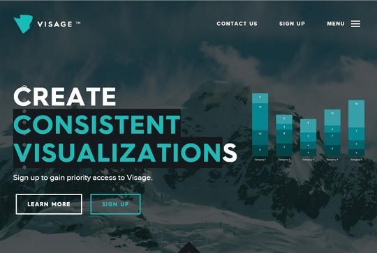 Creative One Page Website Designs 8