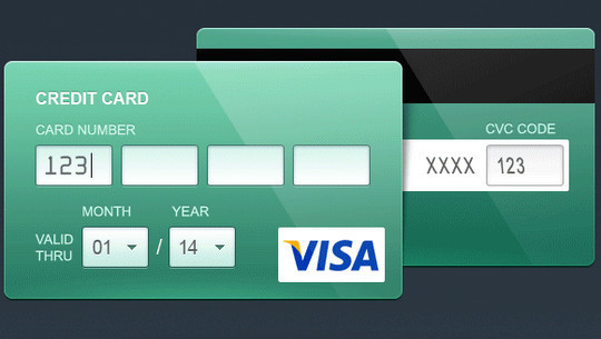 13 Payment Form Photoshop Files For Free Download 5