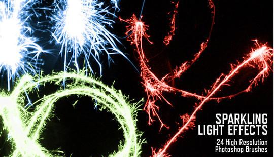20 Free Light Effects Photoshop Brushes 12