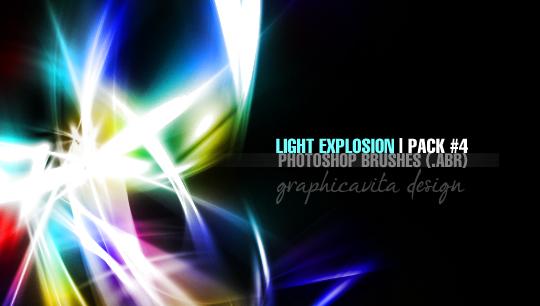 20 Free Light Effects Photoshop Brushes 20