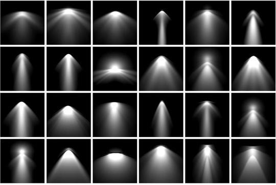 20 Free Light Effects Photoshop Brushes 3