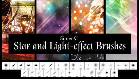 20 Free Light Effects Photoshop Brushes 13