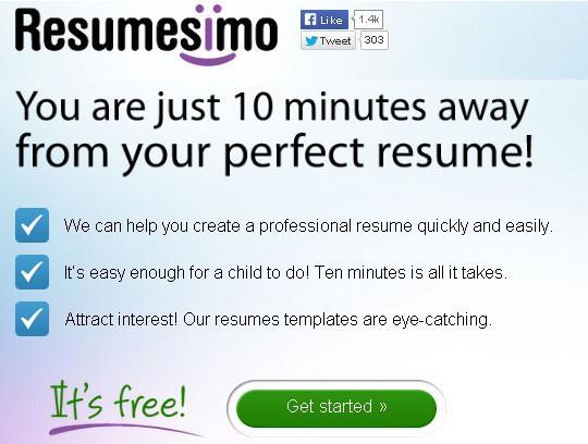 Free Online Resume Maker Tools 6