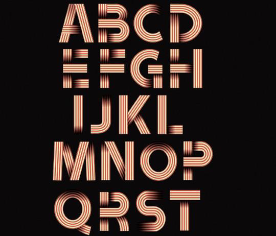 10 High Quality Free Ribbon Fonts 2